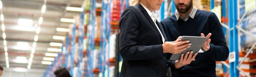 IoT for warehouse management